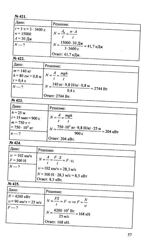 гдз по физике 7 класс перышкин задание 17