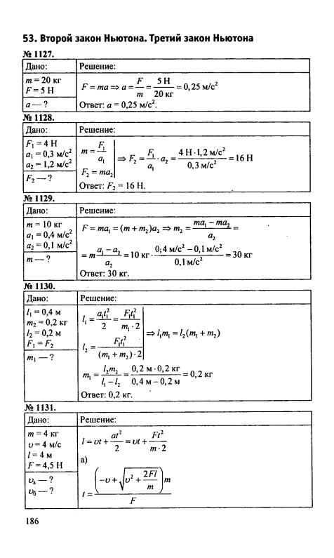 гдз по физике 9 класс сборник задач онлайн