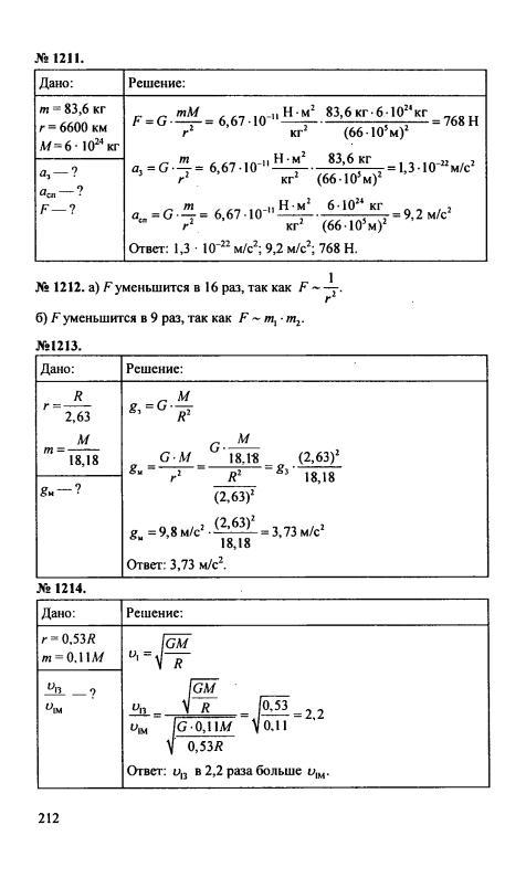 по пёрышкин физике 2017 решебник