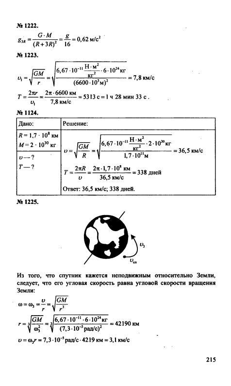решебник по сборнику физики 9 класс