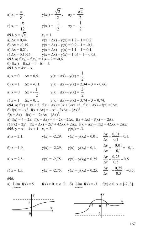 денищева гдз математика 10 класс