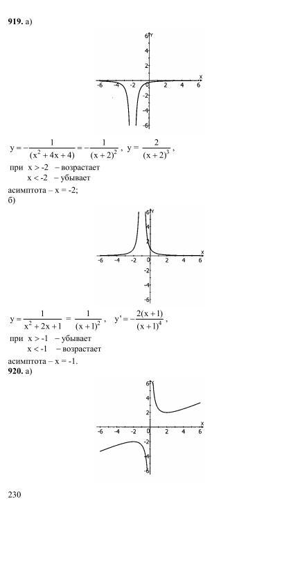Гдз Ответы По Алгебре 10-11 Класс Мордкович Онлайн