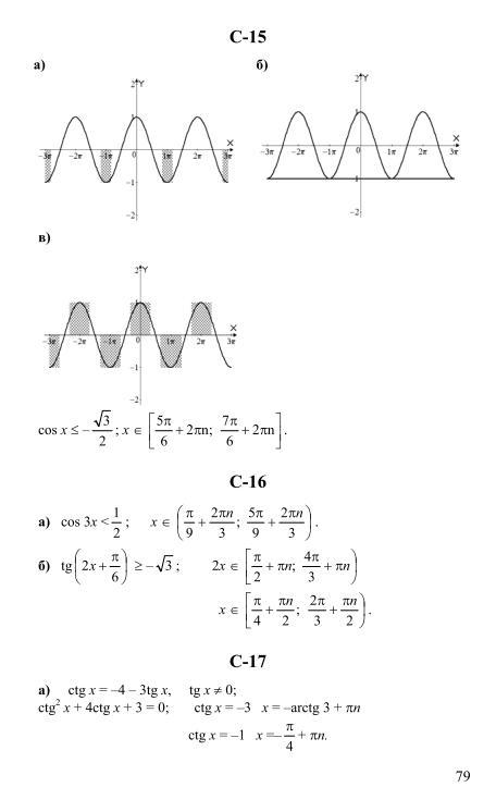 по алгебра класс ивлев 10 гдз и начала анализа