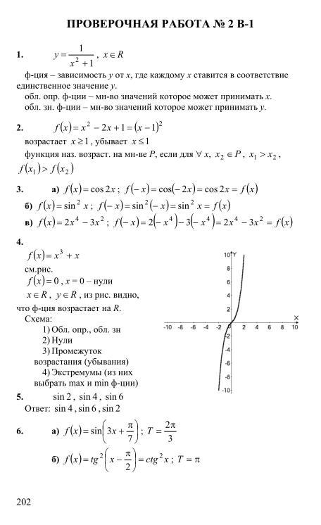 Потапов решебник алгебра i класс 11