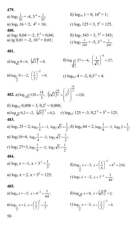 решебник алгебра и анализ 11 класс