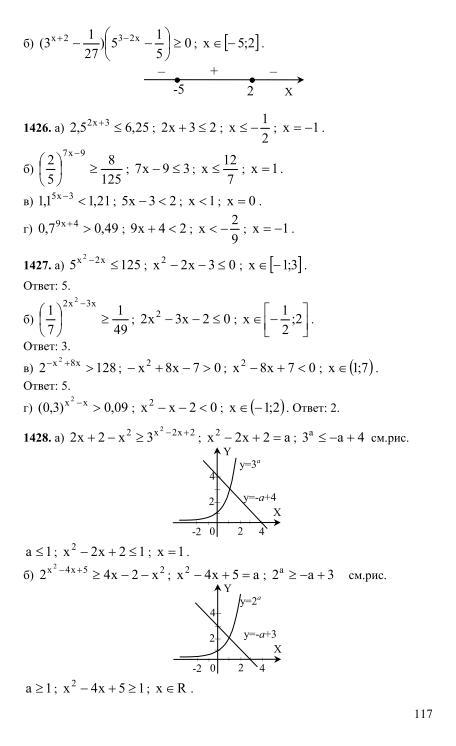 Анализа гдз денищева и корешкова алгебра мордкович начала