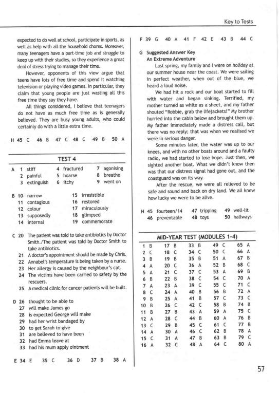 английский класс 9 язык booklet по гдз test