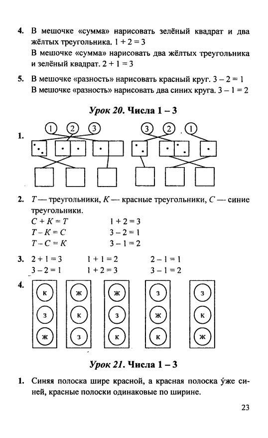 Решебник по математике для 1 класса петерсон л.г 2018г