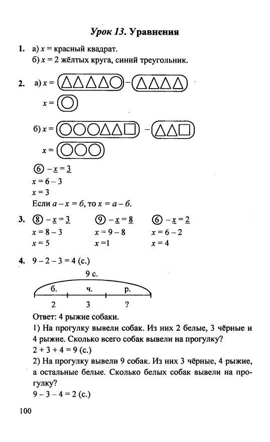 ГДЗ (решебник) по математике 4 класс Петерсон