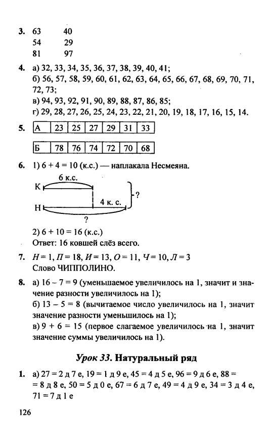 Гдз Ответы По Математике 4 Класс Петерсону