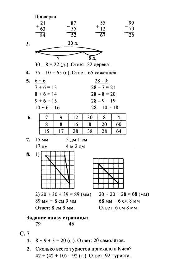 Гдз по математике 2 класс моро смотреть онлайн
