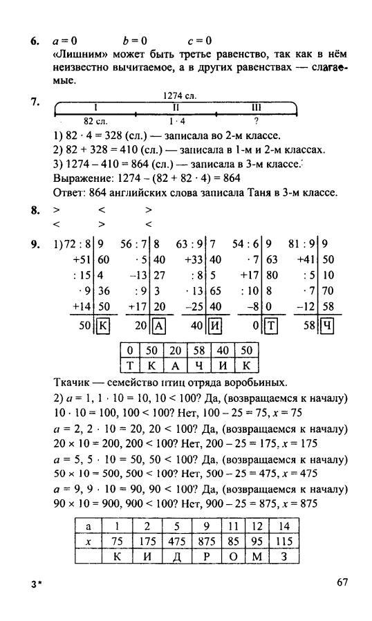 По 3 петерсона класс математике гдз