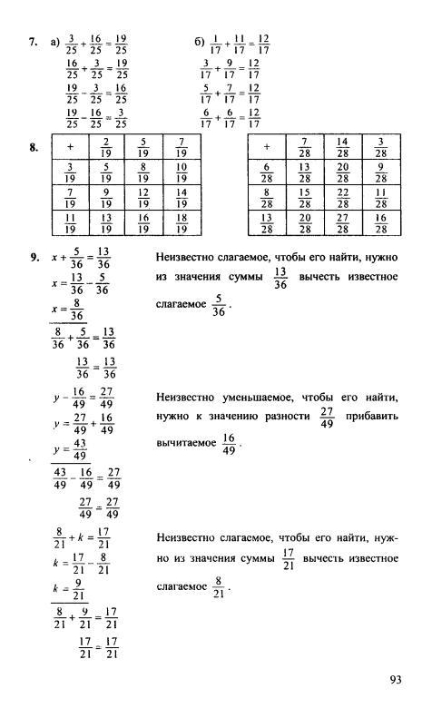 для ответы 4 по 5 гдз математике класс