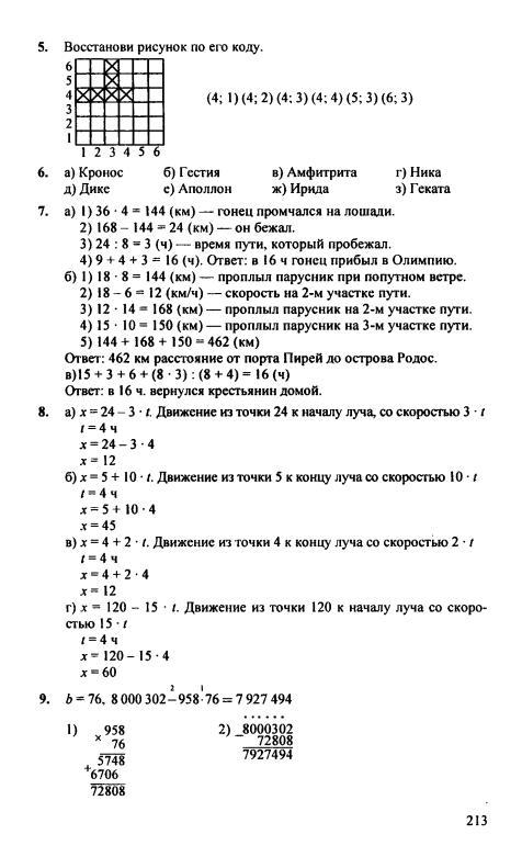 решебник по математике 4 класс а л