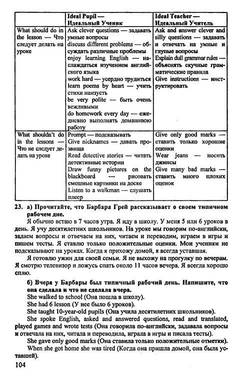 гдз по английскому 65-6 класс бибалетова добрынин и турбанева