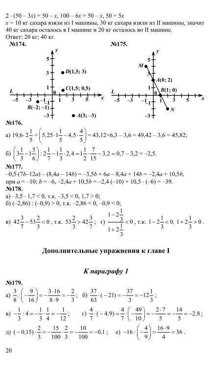 Миндюк алгебра 7 класс решебник
