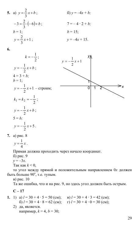 кузнецова суворова звавич гдз материалы дидактические