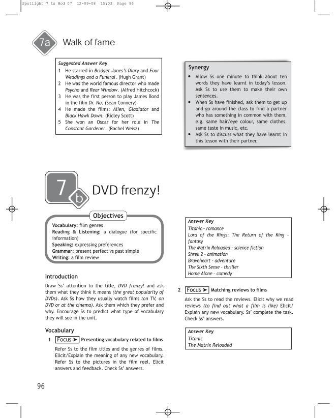 Решебник Для Английского Языка 7 Класс 2007