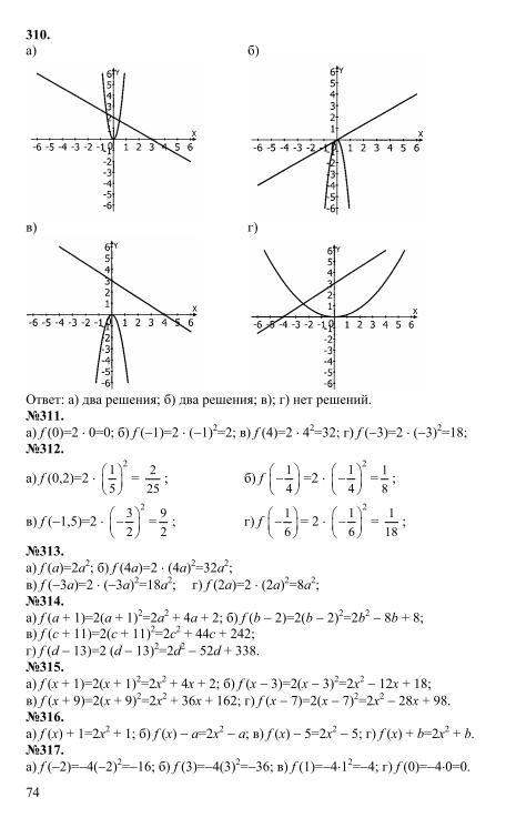 мордкович 2 гдз а.г часть 8 класс алгебра задачник 2018