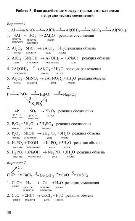 Гдз дидактические материалы по химии 8 класс