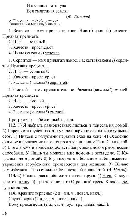 Решебник онлайн русский 5 класс разумовская