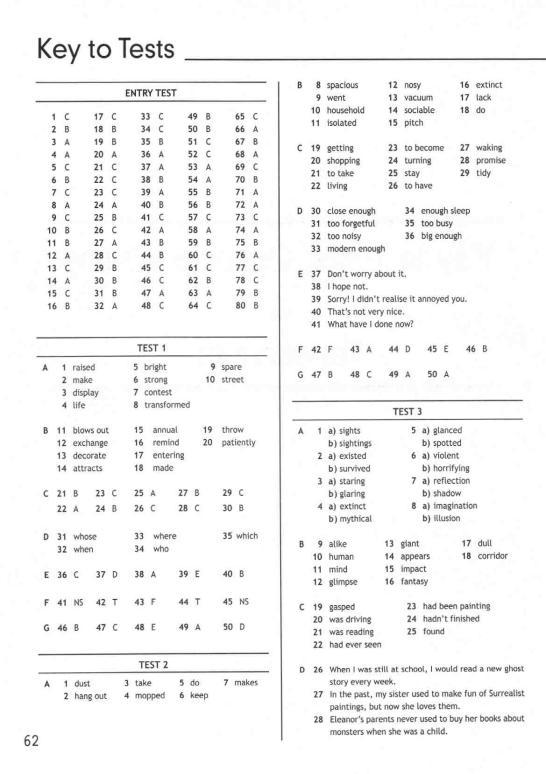 гдз тест буклет 8
