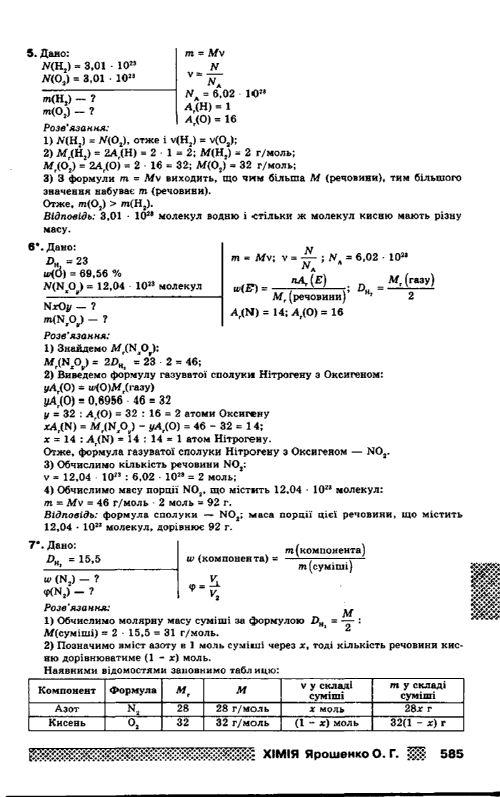 8 гдз ярошенко хімії з