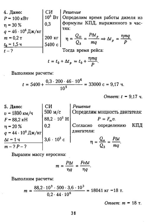 Решебник Физике Ветрова